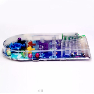 Random Color Challenging Educational Funny Gift Kids Mini Cartoon Balls Pinball Toy
