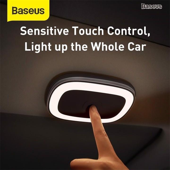 Đèn led gắn trần ô tô, phòng khách, bếp cao cấp thương hiệu Baseus CRYDD01-01 (Bảo hành 6 tháng)
