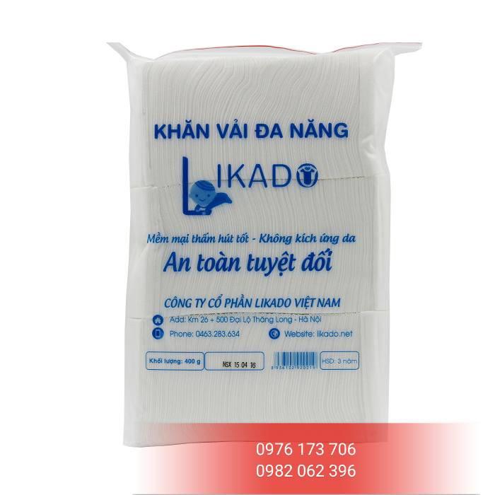 5 gói khăn vải khô Likado 400g (loại tốt)