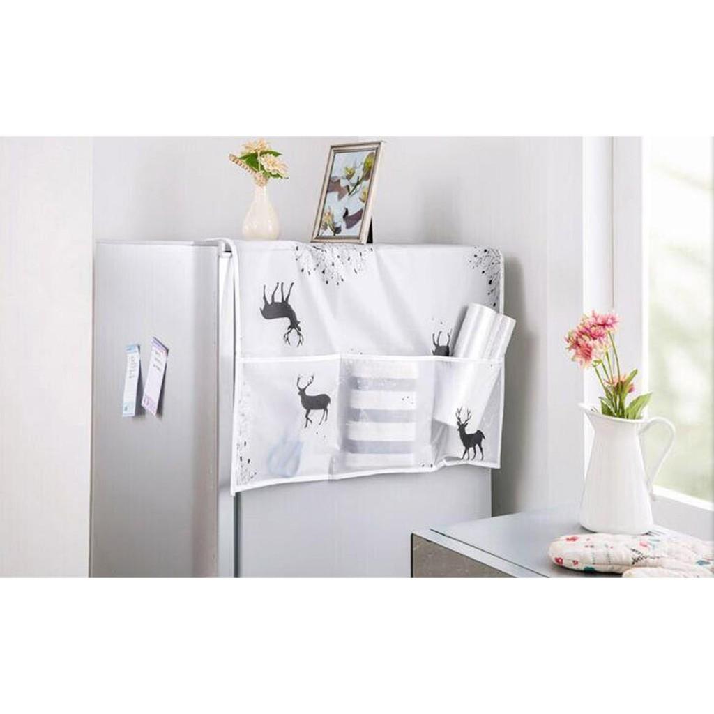 Phủ tủ lạnh bằng nilong chống thấm