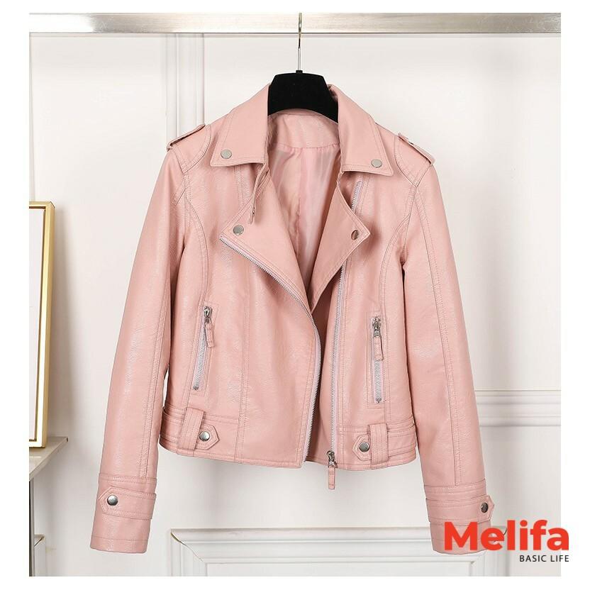 Áo da nữ, áo khoác da nữ trẻ trung phong cách Hàn Quốc A0132