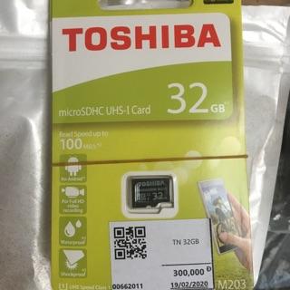 Thẻ nhớ 32 G chính hãng Toshiba