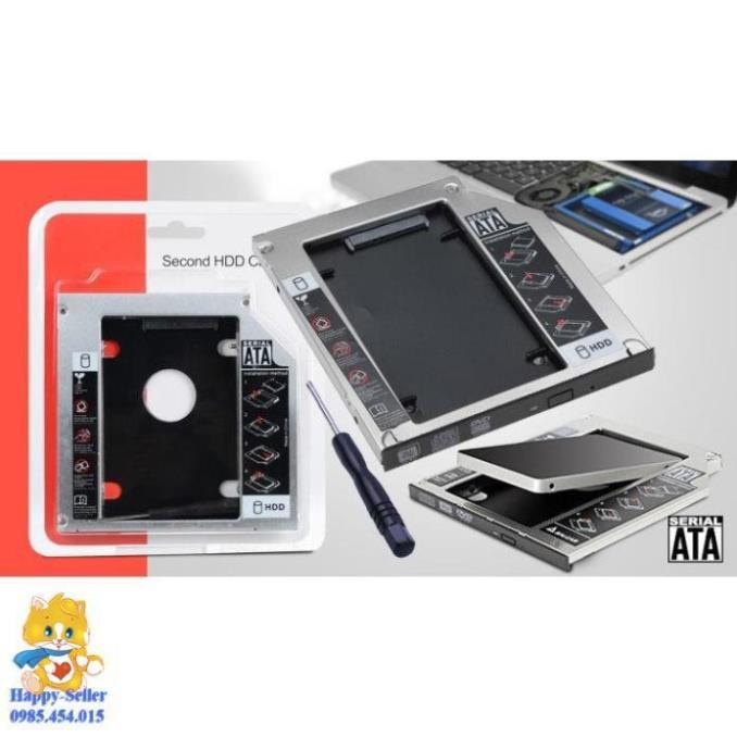 Khe cắm ổ cứng cho Laptop SATA3 9.5mm/12.7mm