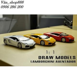 Mô hình – Mô Hình Lamborghini Aventador
