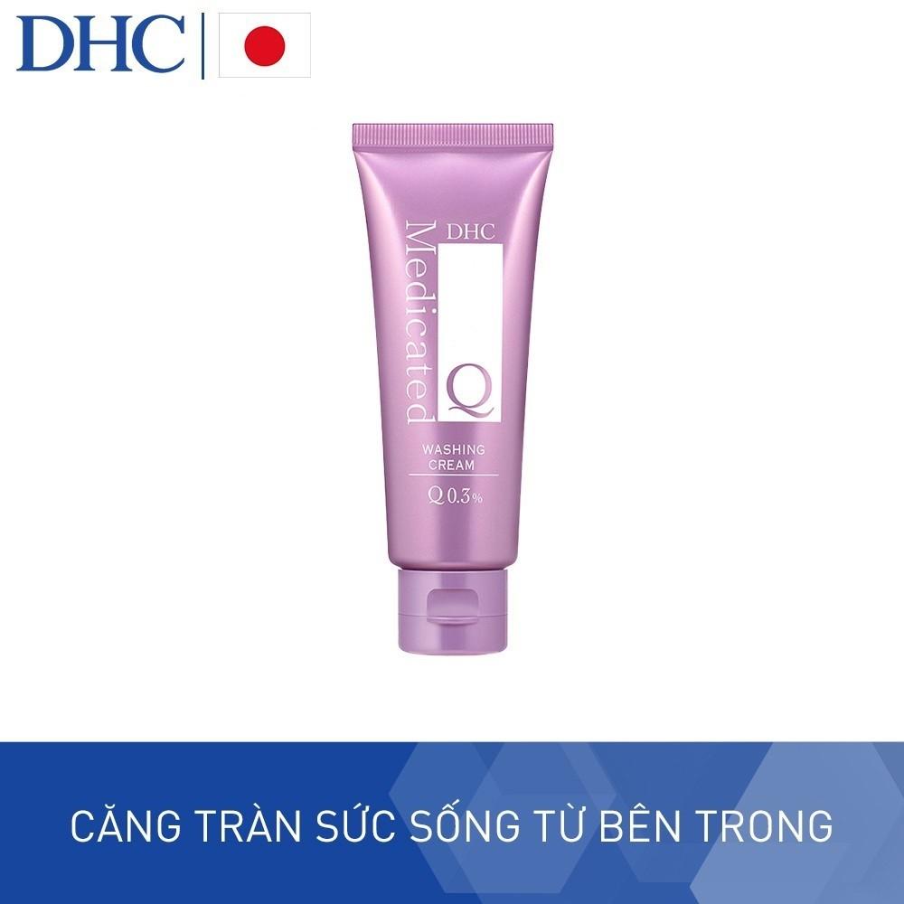 Kem Rửa Mặt Siêu Năng DHC Q Washing Cream 80g