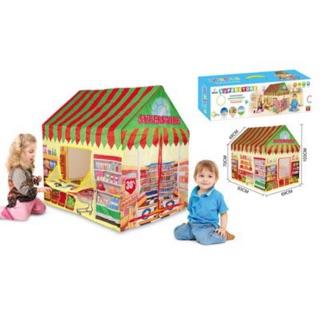 Lều banh cho bé trai hình ngôi nhà 995-7055