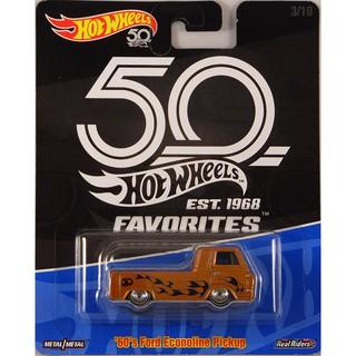 Xe mô hình Hot Wheels '60s Ford Econoline Pickup FLF40
