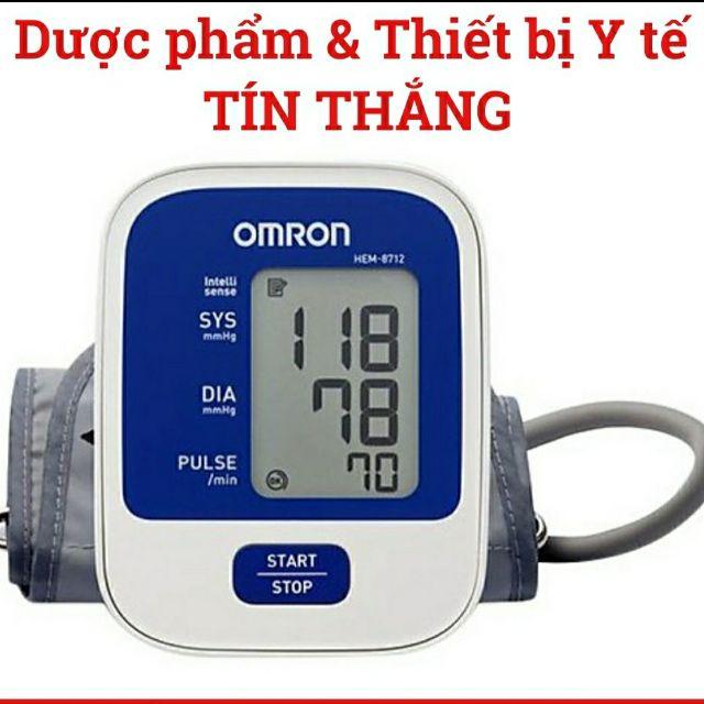 Máy đo huyết áp bắp tay Omron HEM - 8712 CHÍNH HÃNG BH 5 NĂM