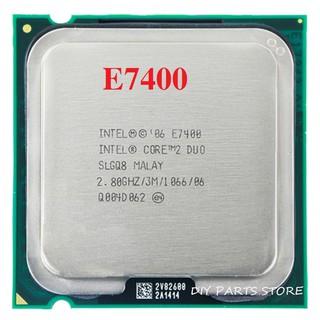 Intel Core 2 Duo E7400 2.8 GHz Dual Core 1066 MHz FSB, 3 MB Cache, Socket 775 thumbnail