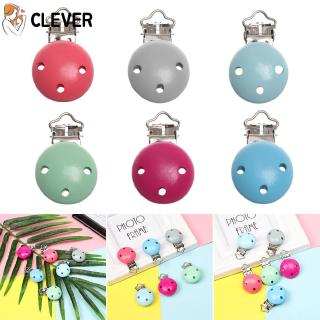 CLEVER 1PC Gifts Newborn Soother Strap Infant Feeding Teething Baby Pacifier Clip