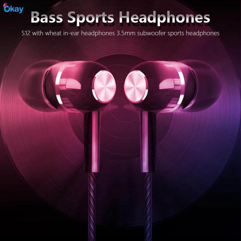 OK Samsung Earphone Ear-Hook Headset Universal 3.5mm Giá chỉ 20.382₫