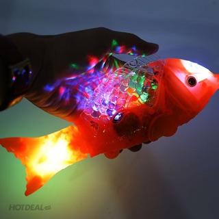 Lồng đèn TRUNG THU cá chép đèn led có nhạc