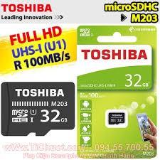 Không chính hãng hoàn tiền: THẺ NHỚ TOSHIBA 32GB,100MB/s