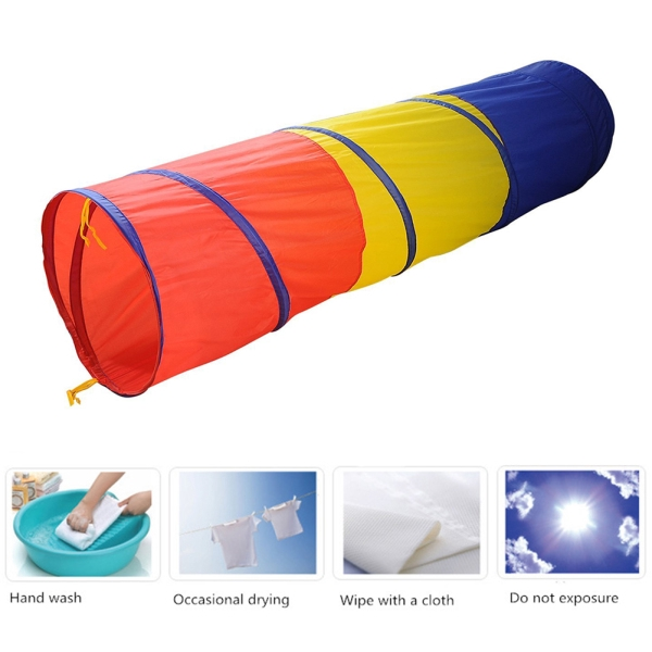 Play Tunnel Toy Tent Baby Kids up Funny Discovery Tube Play Tent