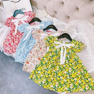 Váy bé gái hoa nhí size đại 18-30kg