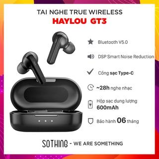 [Mã 159ELSALE hoàn 7% đơn 300K] [Bảo hành 6 tháng] Tai Nghe True Wireless HAYLOU GT3 - Hàng Chính Hãng thumbnail