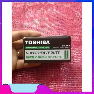 Hộp 40 Viên Pin Điều Kiển AAA Toshiba | TẠI BA ĐÌNH