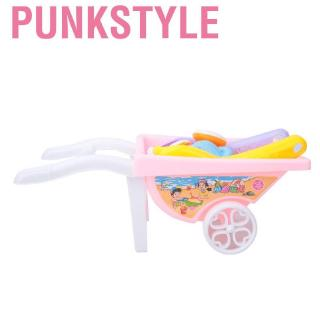 Punkstyle Mini Beach Trolley Pretend Play Role Educational Toy Set Gift for Kids Children