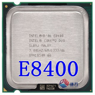 cpu Core 2 dual E8400#E8400 CPU PC E8400