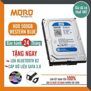 [Mã ELMS05 giảm 5% đơn 300K] Ổ cứng HDD WD Blue 500GB ( HÀNG THÁO MÁY ĐỒNG BỘ - MỚI 99% ) - Bảo hành 24 tháng !!!