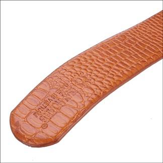 Bộ ví & Thắt lưng nam Huy Hoàng da bò vân cá sấu màu da