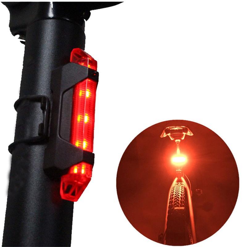 Đèn pha xe đạp 4 chế độ chống nước có cổng sạc USB