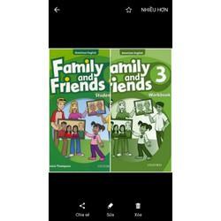 Sách - Family and Friends 3 kèm CD