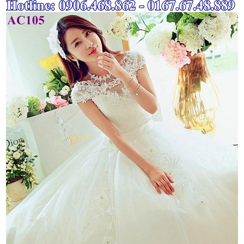 Áo cưới công chúa AC105