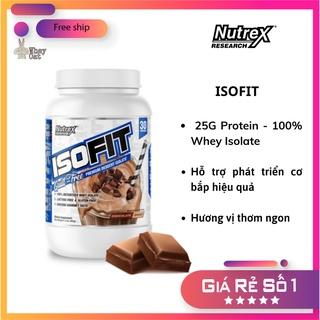 ISOFIT - Whey Protein Tinh Khiết của Nutrex (70 Lần dùng) - Wh thumbnail