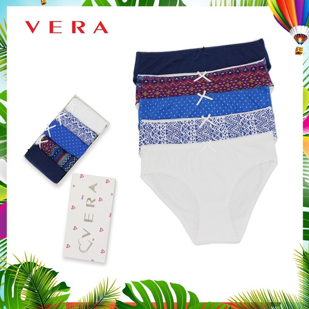Combo 05 quần lót VERA Bikini 7168 (Set 3)