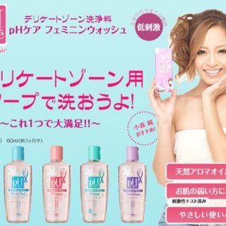 Dung dịch vệ sinh phụ nữ pH care Nhật Bản 3