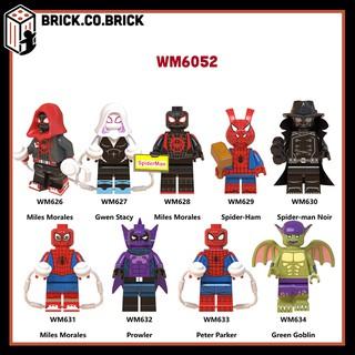 WM6052 - Minifigures nhân vật hoạt hình Spider man siêu chất - Đồ chơi Lắp ghép Xếp hình Mini Iron Man Mô hình Non Lego thumbnail