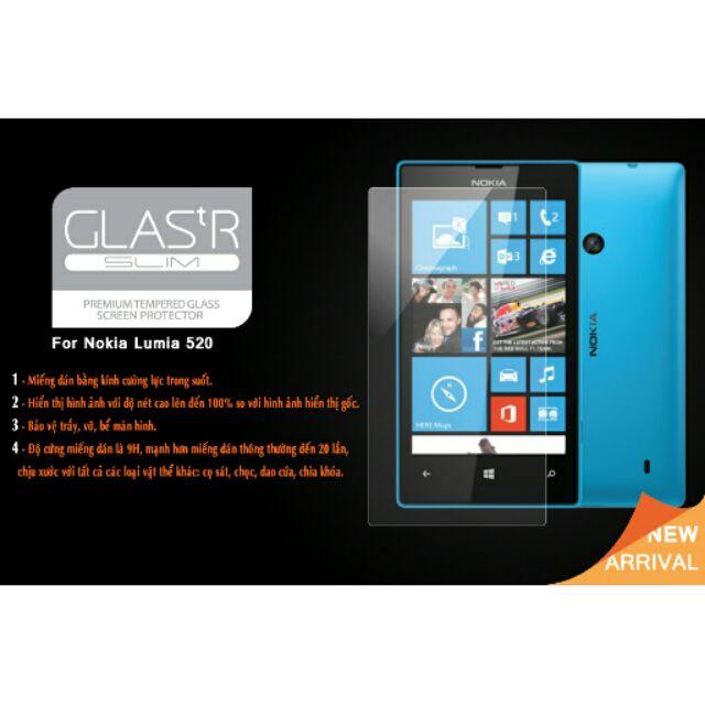 Kính cường lực nokia lumia 520