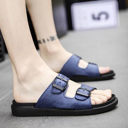 (Hàng order) Dép sandal nam quai ngang, đơn giản , cá tính
