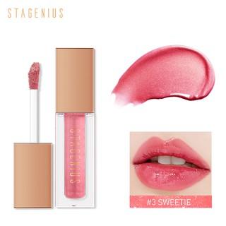 Son môi STAGENIUS màu bóng có dưỡng ẩm lâu trôi 4g