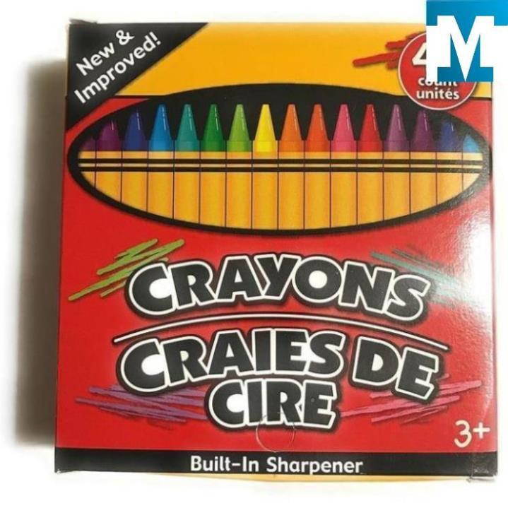 Màu sáp Crayons 48 màu