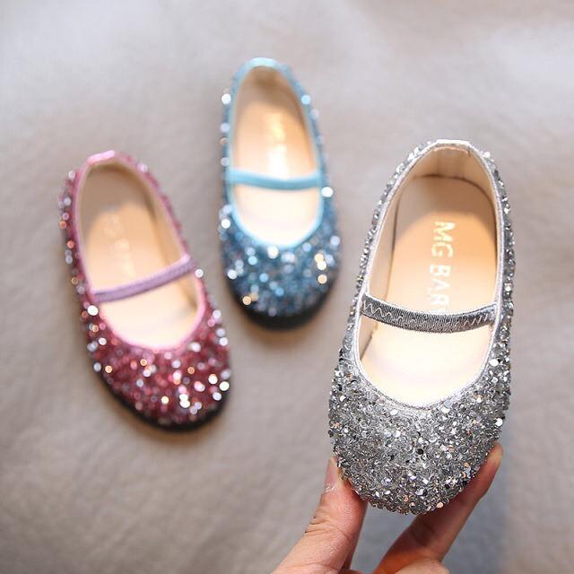 giày bé gái giày búp bê cho bé gái công chúa lấp lánh cho bé gái dễ thương 952