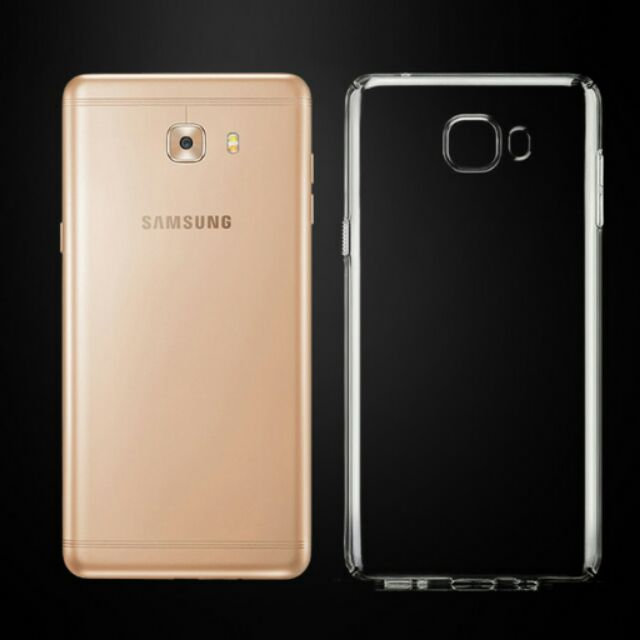 Ốp dẻo Galaxy C9/ C9 Pro silicon trong suốt