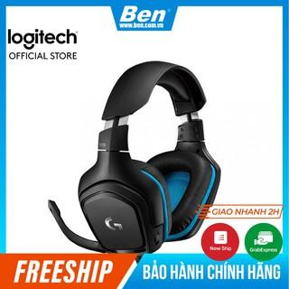 Tai nghe game thủ Logitech G431 âm thanh vòm 7.1 - Bảo Hành Chính Hãng - BenComputer