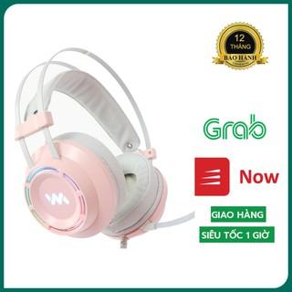 [Chính Hãng] Tai nghe Gaming Wangming 9800s – Tai nghe chụp tai có dây RGB 7.1 – Headphone Cổng USB – BH 12 Tháng