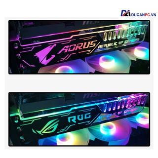 Giá Đỡ VGA Coolmoon Led RGB Độ Dài 25cm – Đồng Bộ Hub Coolmoon / Auto