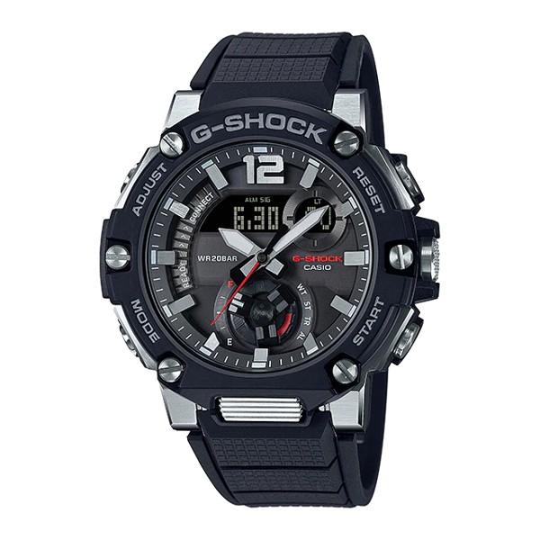 Đồng Hồ Nam Casio G-Shock GSteel GST-B300-1ADR Chính Hãng - Dây Nhựa   G-Shock GST-B