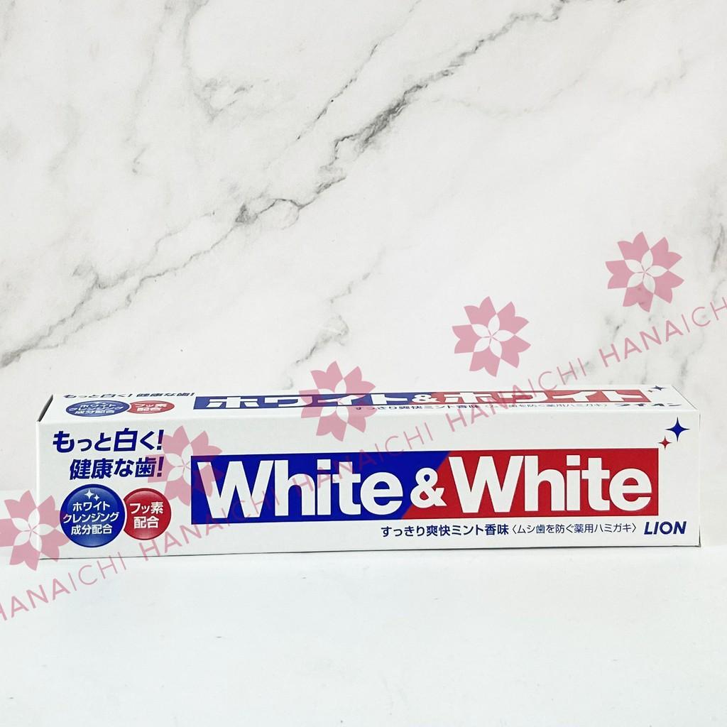 KEM ĐÁNH RĂNG LION WHITE & WHITE