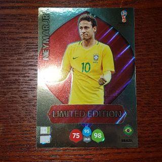 Neymar Limited Edition Panini world cup 2018 ( thẻ cầu thủ )