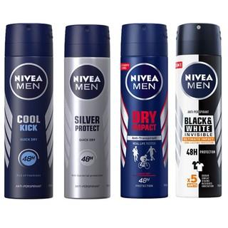 Xịt Khử mùi Nivea Men 150ml