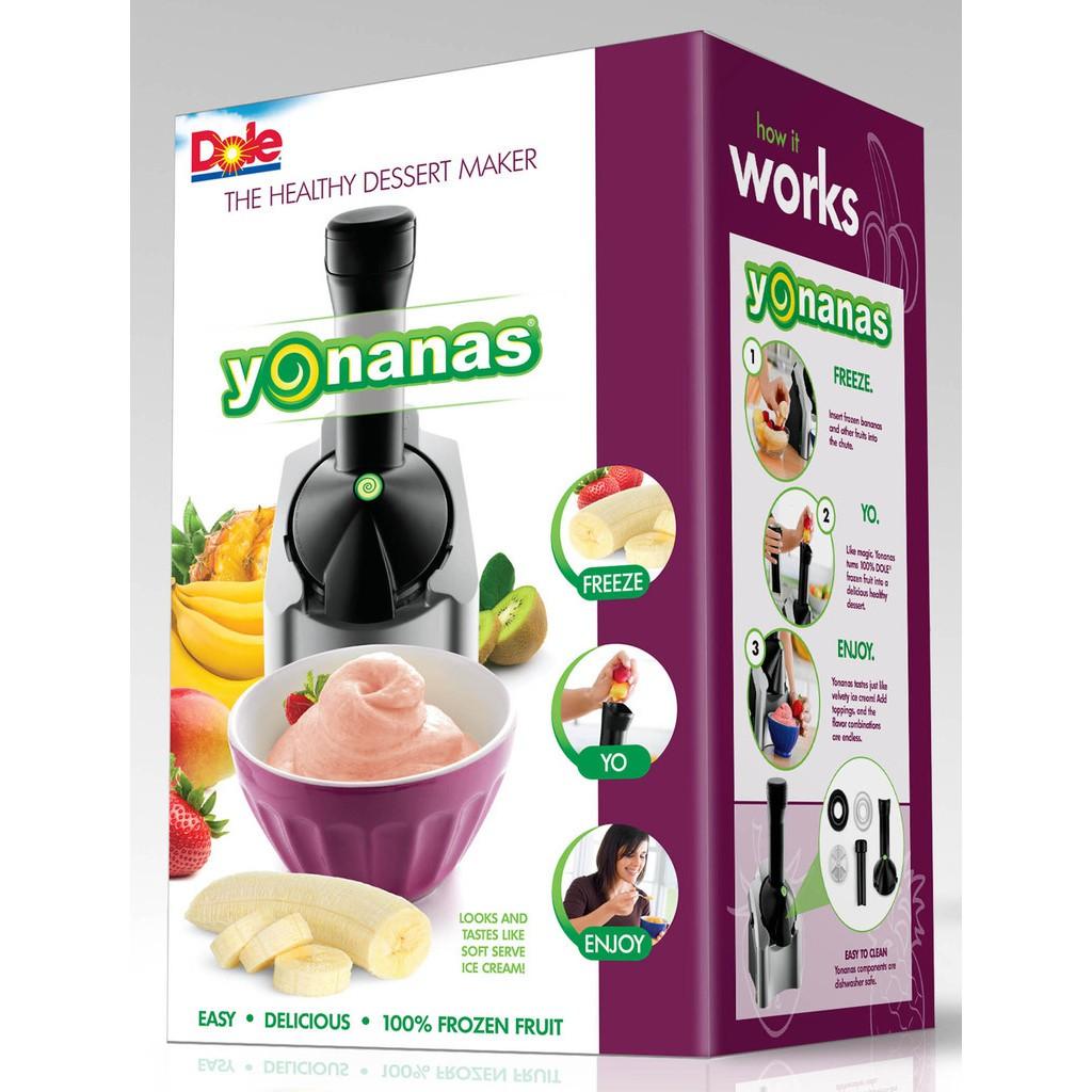 [Nhập HOMENEW07 giảm ngay 12% tối đa 40k] Máy làm kem trái cây YONANAS tiện dụng