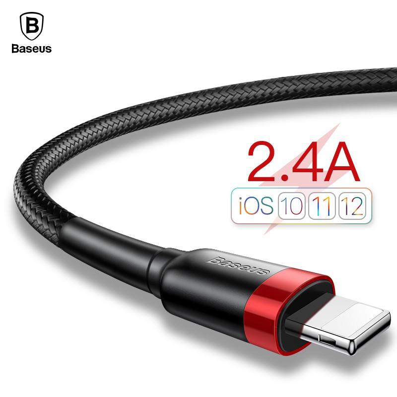 Cáp dây sạc nhanh 3.4A kiểu dáng bền bỉ dành cho iPhone