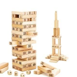 Đồ chơi rút gỗ thông minh (48 thanh)