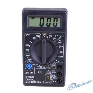 AB DT-830B LCD Digital Multimeter AC/DC 750/1000V Amp Volt Ohm Tester Meter
