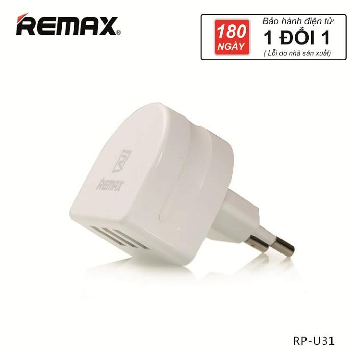 Củ sạc Remax RP-U31 3 cổng USB